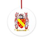Cavaliere Ornament (Round)