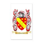 Cavalier Rectangle Car Magnet