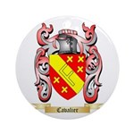 Cavalier Ornament (Round)