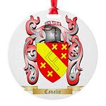 Cavalie Round Ornament