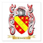 Cavalie Square Car Magnet 3