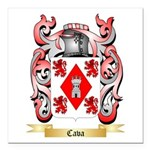 Cava Square Car Magnet 3