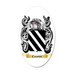 Causton Oval Car Magnet