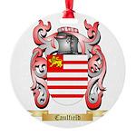Caulfield Round Ornament