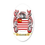Caulfield Oval Car Magnet