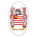 Caulfield Sticker (Oval 10 pk)