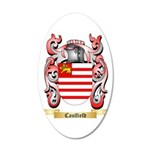 Caulfield 20x12 Oval Wall Decal