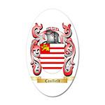 Caulfield 35x21 Oval Wall Decal