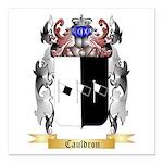 Cauldron Square Car Magnet 3