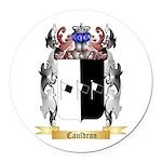 Cauldron Round Car Magnet
