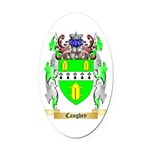 Caughey Oval Car Magnet