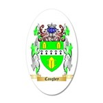 Caughey 20x12 Oval Wall Decal