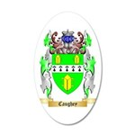 Caughey 35x21 Oval Wall Decal