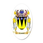 Caudell Oval Car Magnet