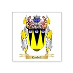 Caudell Square Sticker 3