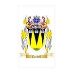 Caudell Sticker (Rectangle 50 pk)