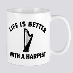 Life is better with a Harpist Mug