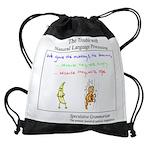 SpecGram NLP Monkey Drawstring Bag