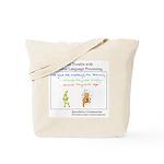 SpecGram NLP Monkey Tote Bag