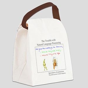 SpecGram NLP Monkey Canvas Lunch Bag