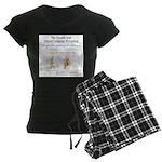 SpecGram NLP Monkey Women's Dark Pajamas