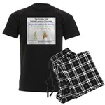 SpecGram NLP Monkey Men's Dark Pajamas