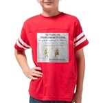 SpecGram NLP Monkey Youth Football Shirt