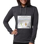 SpecGram NLP Monkey Womens Hooded Shirt
