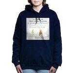 SpecGram NLP Monkey Women's Hooded Sweatshirt