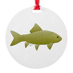 Bigmouth Buffalo fish Ornament