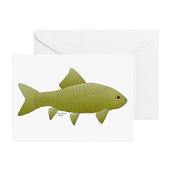 Bigmouth Buffalo fish Greeting Card