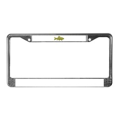 Bigmouth Buffalo fish License Plate Frame
