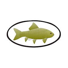 Bigmouth Buffalo fish Patches