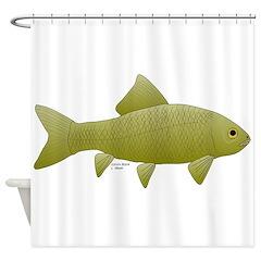 Bigmouth Buffalo fish Shower Curtain