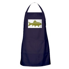 Bigmouth Buffalo fish Apron (dark)