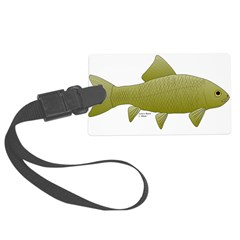 Bigmouth Buffalo fish Luggage Tag