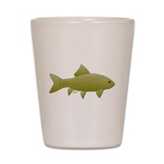 Bigmouth Buffalo fish Shot Glass