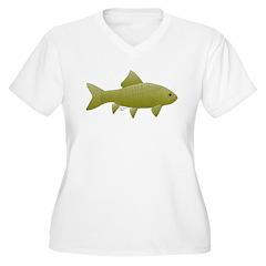 Bigmouth Buffalo fish Plus Size T-Shirt
