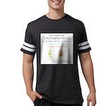 SpecGram NLP Monkey Mens Football Shirt