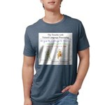 SpecGram NLP Monkey Mens Tri-blend T-Shirt
