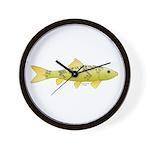 Black Redhorse fish Wall Clock