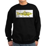 Black Redhorse fish Sweatshirt