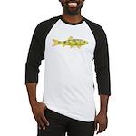 Black Redhorse fish Baseball Jersey