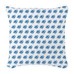 Atom Sae #16 Woven Throw Pillow 4
