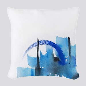Atom Sea #16 Woven Throw Pillow 3
