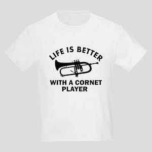Life is better with a Cornet Kids Light T-Shirt