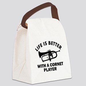 Life is better with a Cornet Canvas Lunch Bag