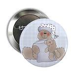 Naptime Bear Button