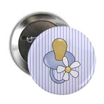 Baby Pacifier Blue Button