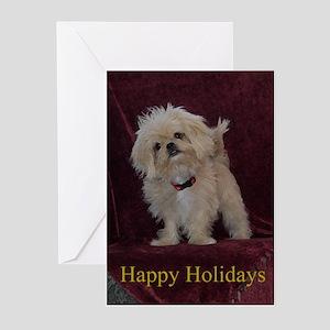 Gracie Christmas Greeting Cards (Pk of 10)